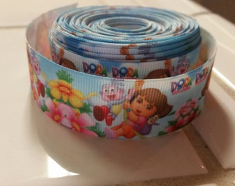 DORA 1 inch Ribbon by the yard