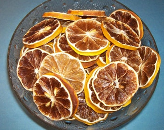 Dried/Dehydrated MEYER LEMON SLICES ***12 Slices***
