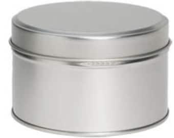 Metal Seamless 6oz Tins for Candle Making