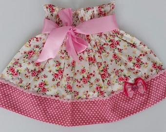 Toddler skirt, Girls skirt, Baby skirt, Handmade skirt, Floral skirt, skirts, Summer skirt, Cotton skirt, Spring skirt, Toddler Clothing
