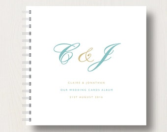 Personalised Wedding Cards Book or Album