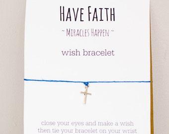 Have Faith Wish Bracelet