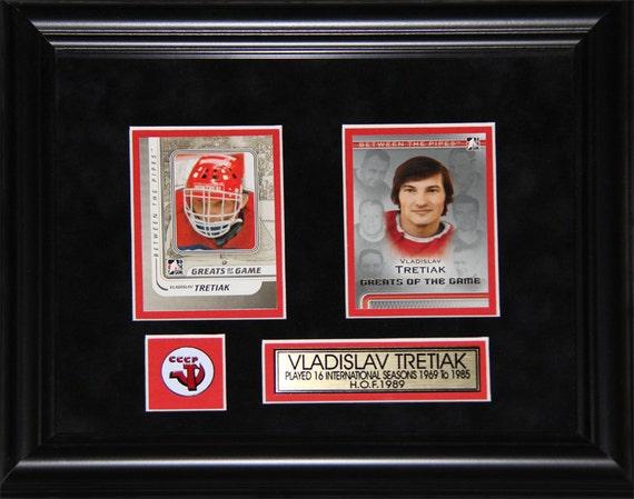 Vladislav Tretiak USSR Hockey 2 Card Frame