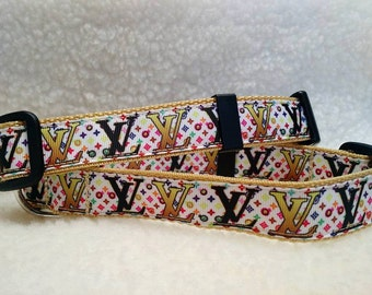 Fashion Dog Collar  1 inch Wide
