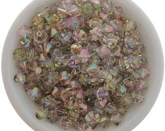 Purple Haze (3mm - 6mm) Swarovski Crystal 5328 XILION Bicones