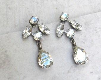 Drop Earring Swarovski Dangle Earrings Blue Earrings Wedding Earrings Bridal Jewelry Bridal Earrings Wedding Jewelry Crystal Earrings