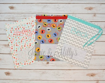Toy Sack   toy storage   Personalized   Peek A Boo   bag for toy storage   great for travel and outings