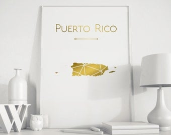 Puerto rico wall art etsy for Puerto rico home decorations