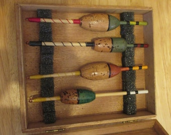 4 boxed fishing floats