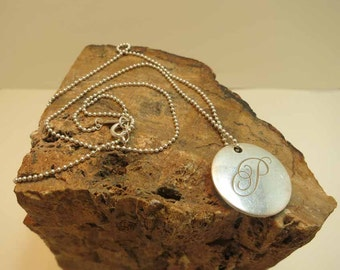 tiffany and co sterling id charm with chain