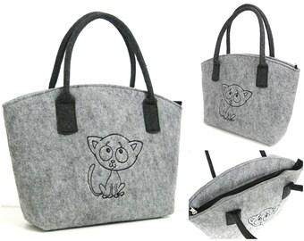 Bestseller - Little Cat Felt Bag