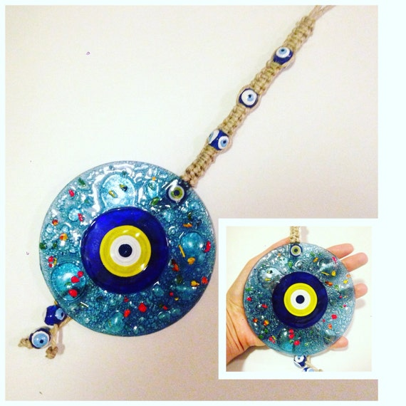 Evil Eye Decoration Wall Hanging : Evil eye wall hanging decor by