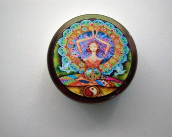 Peace & Love Solid Perfume, Solid Perfume, Perfume, Natural Perfume, Essential Oils, Fragrance, Patchouli, Sandalwood,