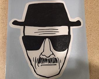 Heisenberg vinyl sticker