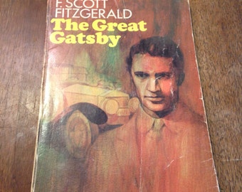 1953 The Great Gatsby Paperback Novel