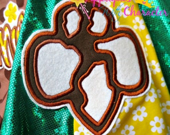Scout Symbol Applique Embroidery Machine Design 3 sizes Instant Download