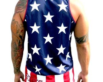 American Flag Tank Top jersey