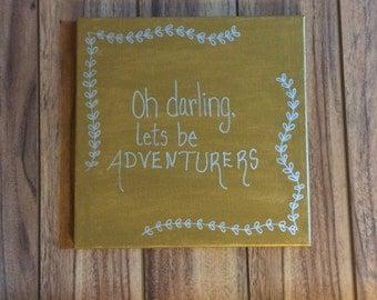"Adventure Canvas 12"" x 12"""