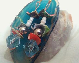 Shell +Wire Earrings