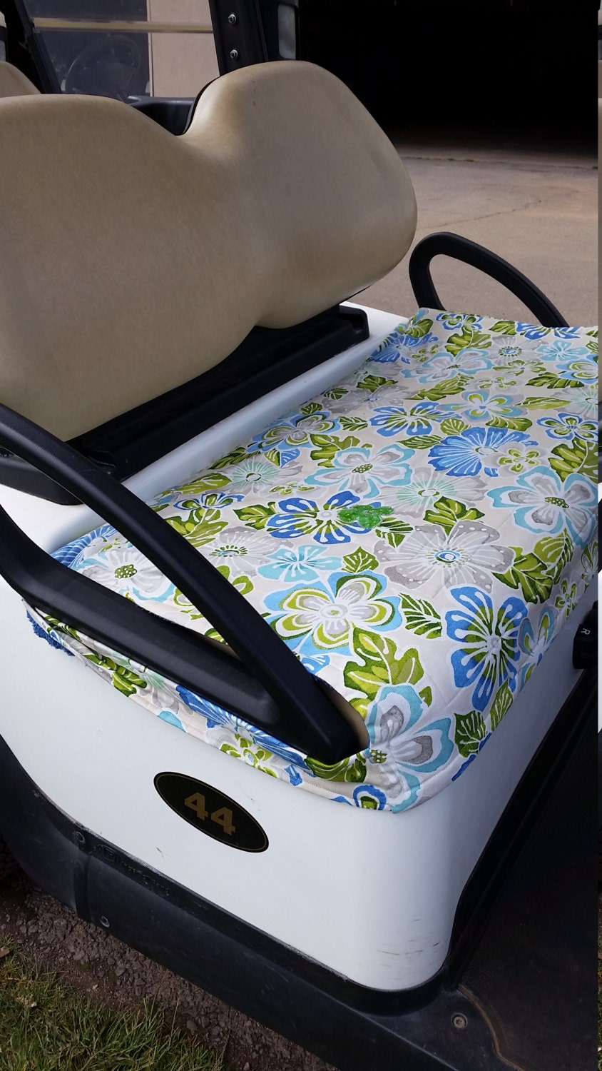 Golf Cart Seat Cover by SimplyFunClubCovers on Etsy