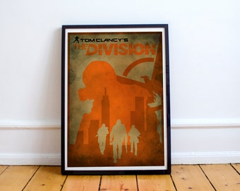 The Division Print Poster