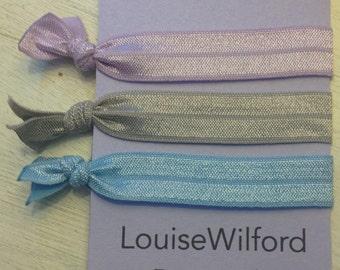 emijay inspired elastic hair ties, simple or lake pack
