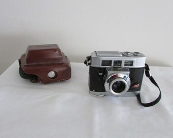 Kodak Motormatic 35F Camera with Leather Case