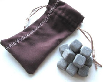 WHISKEY STONES , SOAPSTONE whisky Cubes, Best Gift, Whisky Rocks, Scotch Rocks, Soapstone Ice Cubes