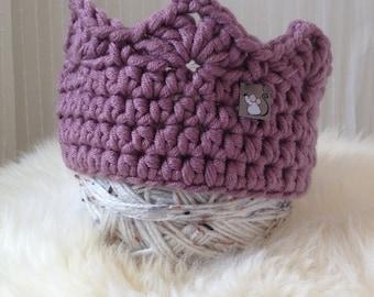 Birthday Crown,Crochet Crown,Children's Crown,Handmade Crown,Princess Crown, Prince Crown,Pretend Play Crown,Royal Crown