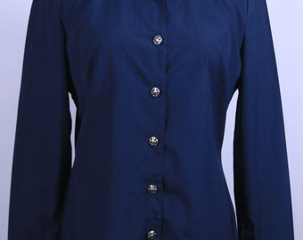 Free Shipping: Versace Jean Couture Blue Shirt