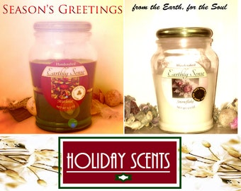 Handmade 100% all natural soy wax candles for Aromatherapy