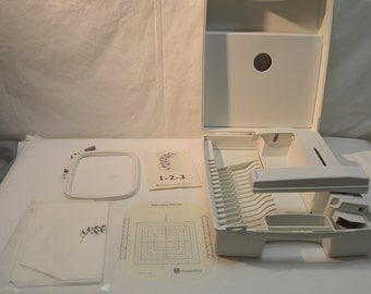 Husqvarna Viking Embroidery Unit with Case and 4x4 Hoop for  Orchidea 1+, and Rose