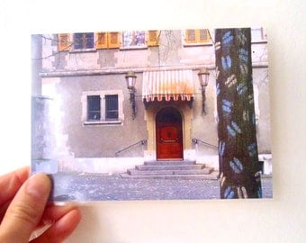 Postal Card - Poetic Landscape 9, Geneva, Switzerland