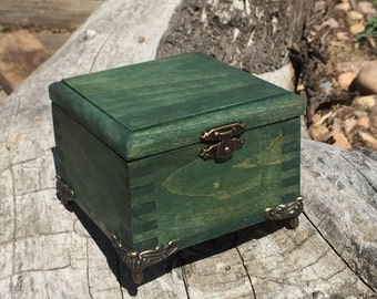 Handmade Little Green Box
