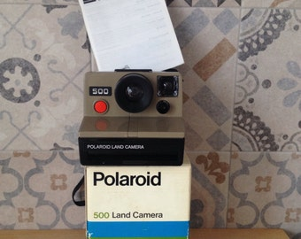 500 Polaroid Land Camera