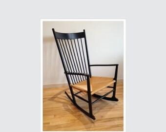 Hans Wegner J 16 Rocking Chair