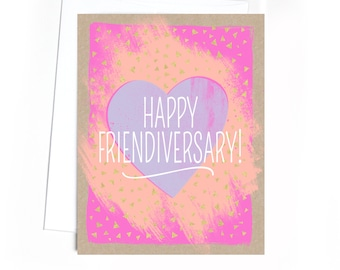 Card // Friendship // Happy Friendiversary!