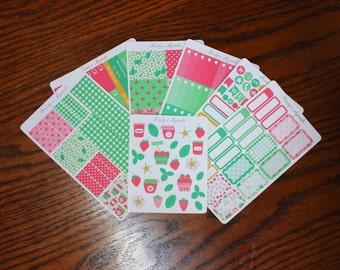 Strawberry Pickings Sticker Kit