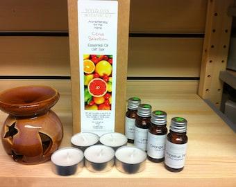 Aromatherapy gift box (CITRUS SELECTION)