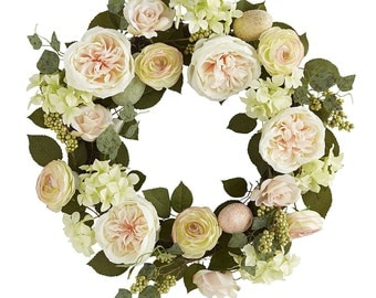 Roses Spring Wreath