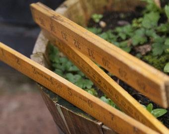 Vintage folding builders yardstick/yard rule