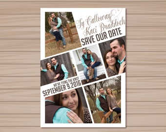 Photo Save the Dates Set of 100