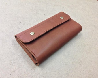 Leather Wallet, Handmade Leather Wallet, Unisex Wallet