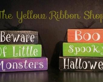 Halloween Mini Stacker Blocks