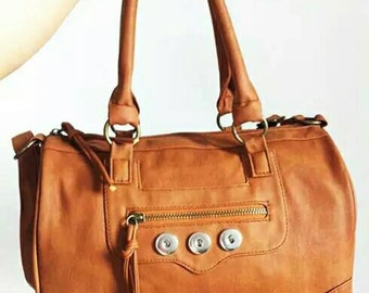 Snap button bag