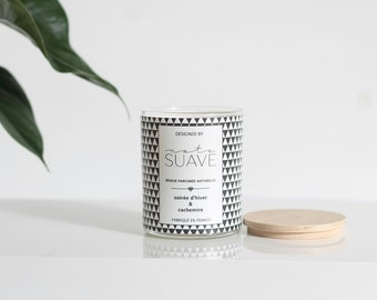 Candle craft soy - evening of winter and cashmere-