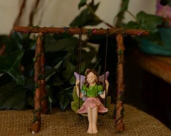 Fairy Garden Swing and Fairy