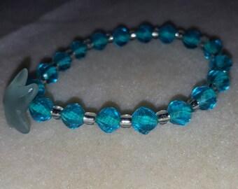 Dreaming of the Seaside stretch bracelet