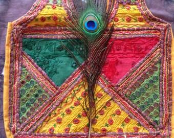 Indian Cotton Embellished Bag