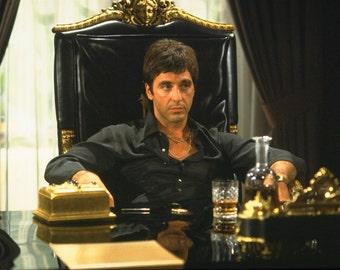 Al Pacino Still Shot from Scarface 1983 Drama/Thriller Movie POSTER
